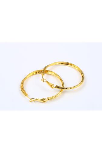 Kép 5/6 - Xuping Arany színű Nyomottmintás Női Fülbevaló