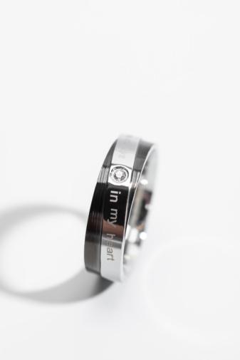 Kép 2/2 - A & ONE Ezüst-Fekete Színű Cirkónia Kő Díszítésű  Gyűrű-6