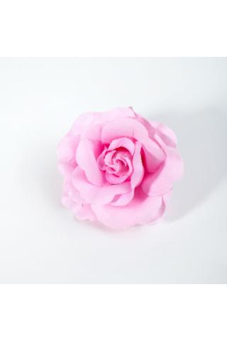 A & ONE Rózsaszín Rózsa Alakú Hajcsat És Kitűző