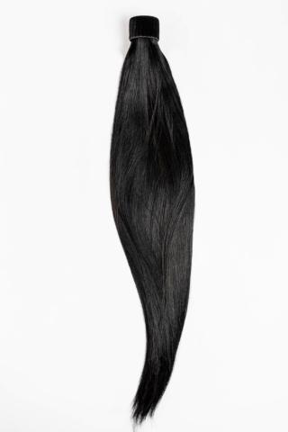 A & ONE Fekete Póthaj Copfhoz 55 cm