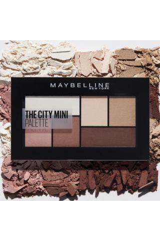 Maybelline The City Mini  szemhéjpúder paletta -- 480 Matte About Town