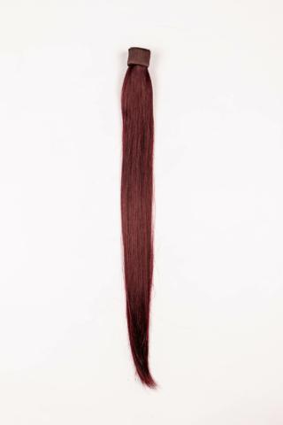 A & ONE Vörös Egyenes Póthaj Copfhoz 57 cm