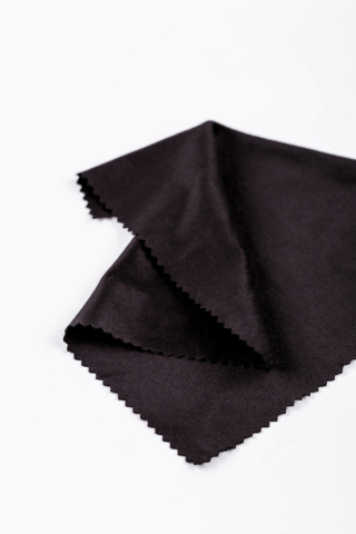Fekete Szemüveg Törlőkendő, 1 Darabos