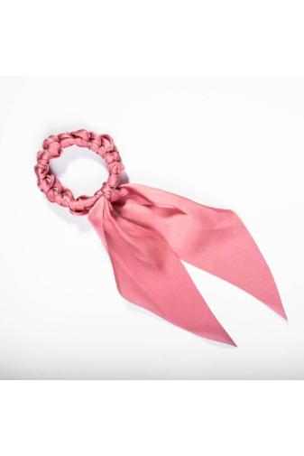 Kép 1/2 - A & ONE Hajgumi szalaggal - rózsaszín
