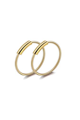 Kép 1/3 - A & ONE Arany színű apró karika fül- vagy orrpiercing