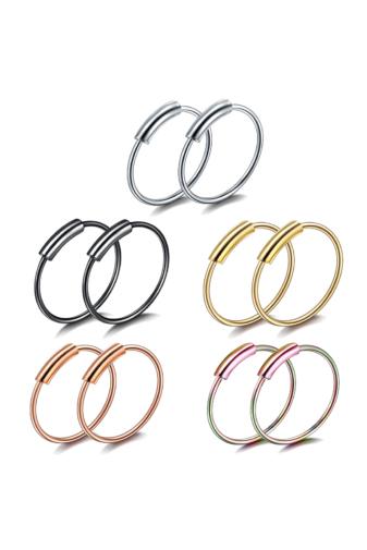 Kép 3/3 - A & ONE Arany színű apró karika fül- vagy orrpiercing