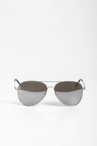 Kép 1/4 - CLOUD Ezüst Színű Pilóta Napszemüveg Tükrös Lencsékkel
