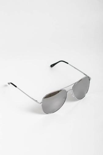 Kép 2/4 - CLOUD Ezüst Színű Pilóta Napszemüveg Tükrös Lencsékkel