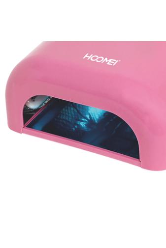 Kép 3/4 - Hoomei Rózsaszínű UV/LED Lámpa 4 x 9W