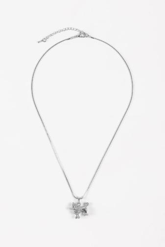 Kép 3/4 - A & ONE Pudlis medállal díszített ezüst színű szett