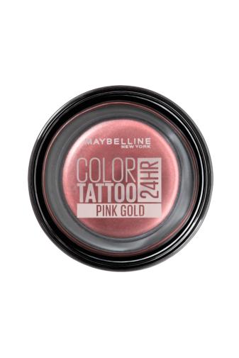Kép 1/4 - Maybelline Color Tattoo 24H Géles Hosszantartó Szemhéjpúder -- 65 Pink Gold