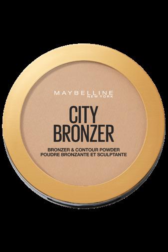 Kép 1/3 - Maybelline City Bronzer Bronz & Kontúr Arcpúder -- Medium Cool