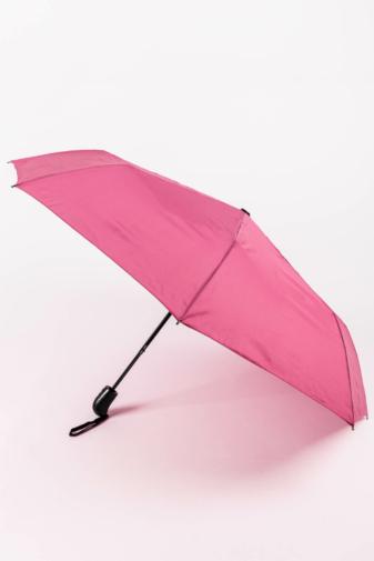 Kép 1/4 - Mályva Rózsaszín Automata Esernyő, 112 cm Átmérővel