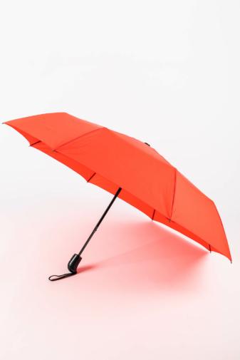 Kép 1/4 - Korallos Piros Automata Esernyő, 112 cm Átmérővel