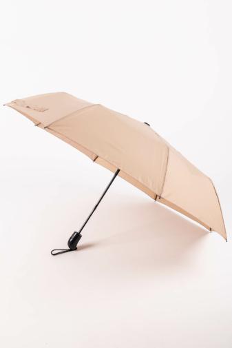 Kép 1/5 - Bézs Automata Esernyő, 112 cm Átmérővel