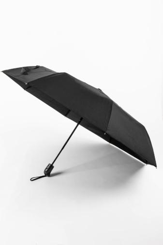Kép 1/4 - Fekete Automata Esernyő, 112 cm Átmérővel