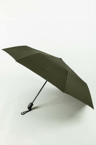 Kép 1/4 - Sötétzöld Automata Esernyő, 112 cm Átmérővel