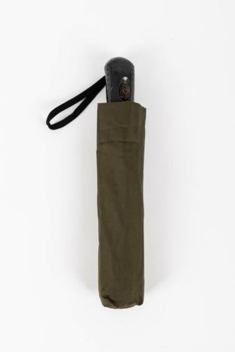 Kép 2/4 - Sötétzöld Automata Esernyő, 112 cm Átmérővel