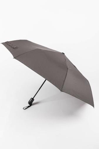 Kép 1/4 - Szürke Automata Esernyő, 112 cm Átmérővel