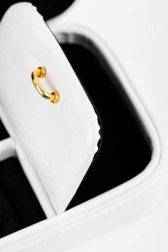 Kép 6/11 - NOBO Fehér Színű Kocka Mintás Prémium Ékszertartó
