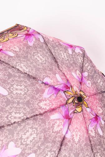 Kép 2/3 - Színes Virágos Automata Esernyő, 105 cm Átmérővel