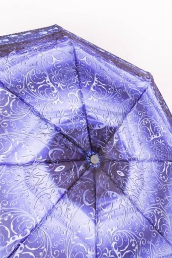 Kép 2/3 - Fekete és Kék Mintájú Automata Esernyő, 105 cm Átmérővel