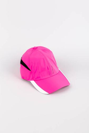 Kép 1/3 - Neon Rózsaszín, Sportos, Légáteresztő Állítható Baseball Sapka