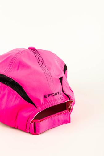 Kép 3/3 - Neon Rózsaszín, Sportos, Légáteresztő Állítható Baseball Sapka