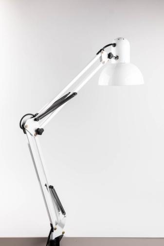 Kép 2/5 - Fehér Asztalra Rögzíthető Körmös Lámpa