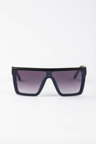 Kép 1/3 - CLOUD Szögletes Fekete Napszemüveg