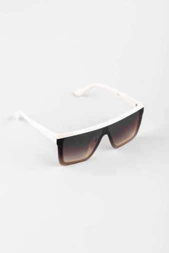Kép 3/3 - A & ONE Bézs, Barna Lencsés Nagy Méretű Szögletes Napszemüveg