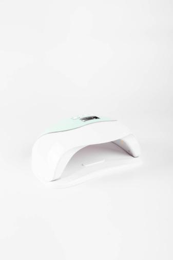 Kép 2/4 - Zöld-Fehér Színű Köröm- És Gélszárító UV/LED Lámpa 120W