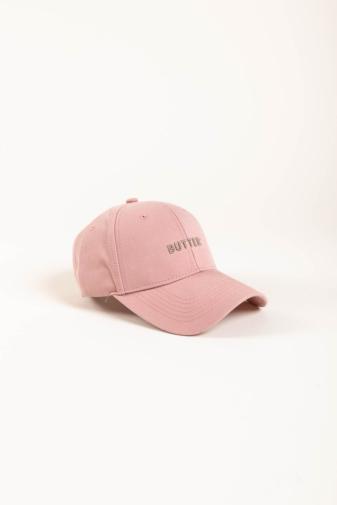 Kép 3/6 - A & ONE Rózsaszín, Butter Feliratos, Hímzett Állítható Baseball Sapka
