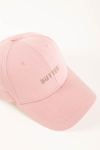 Kép 4/6 - A & ONE Rózsaszín, Butter Feliratos, Hímzett Állítható Baseball Sapka