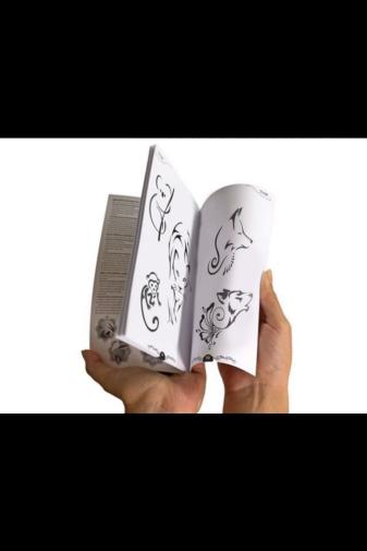 Kép 4/4 - TyToo Állatos Henna Album, 68 Mintával