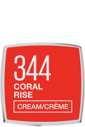Kép 4/4 - Maybelline Color Sensational Krémes Hidratáló Ajakrúzs -- 344 Coral Rise