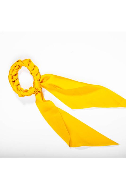 A & ONE Hajgumi szalaggal - sárga