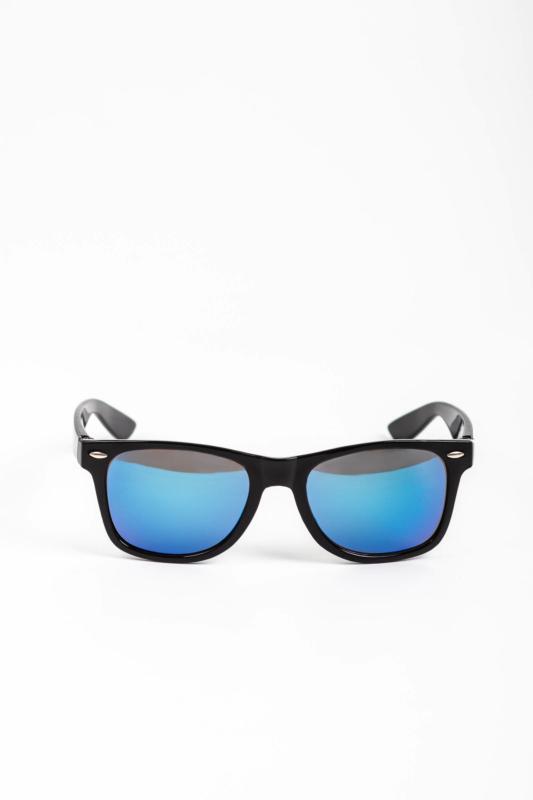 CLOUD Fekete Napszemüveg Kék Lencsékkel