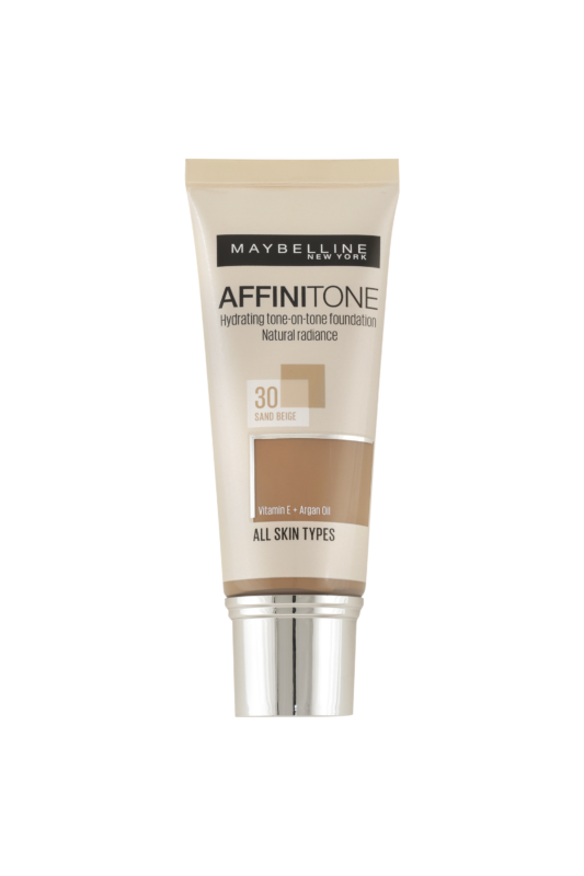 Maybelline Affinitone Hidratáló Alapozó -- 30 Sand Beige