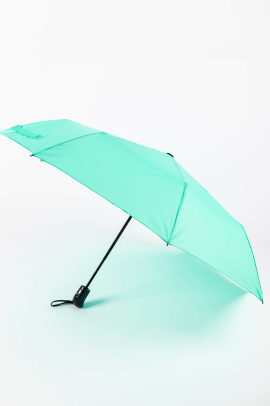 Türkizkék Automata Esernyő, 112 cm Átmérővel