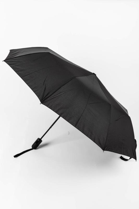 Fekete Automata Esernyő, 113 cm Átmérővel