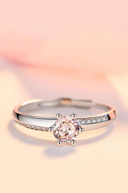 A & ONE Állítható, Cirkónia Kövekkel Díszített, S925 Ezüst Gyűrű - Női