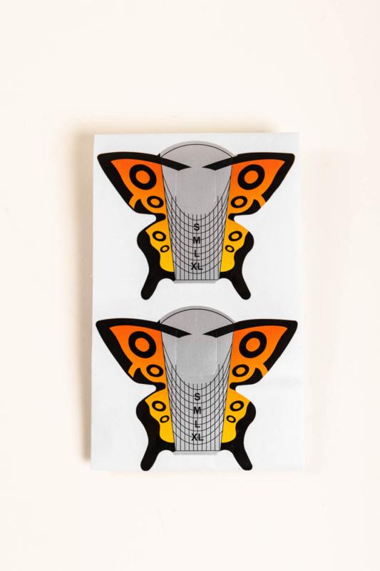 A & ONE Pillangó Alakú Műköröm Építő Sablon