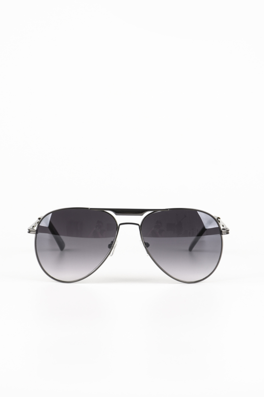 A & ONE Fekete Keretes, Fekete Lencsés Pilóta Napszemüveg
