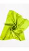 Almazöld Selyem Hatású Textil Kendő