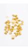 A & ONE Arany Színű 50 Darabos Hajgyűrű Szett