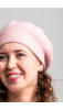 A & ONE Világos Rózsaszín Akril Barett Sapka